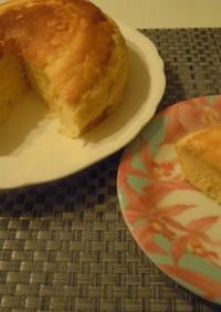 炊飯器でふわっふわチーズスフレケーキ