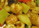 本格的に作るイカとセロリのピリ辛炒め
