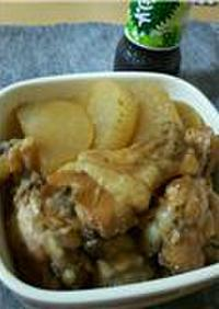 簡単♪鶏手羽の青じそドレッシング煮