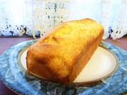 マーマレードのパウンドケーキの写真