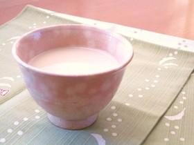 ∮ 私のお気に入り♬生姜湯に豆乳を ∮