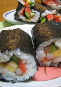 海鮮巻き寿司(恵方巻き)