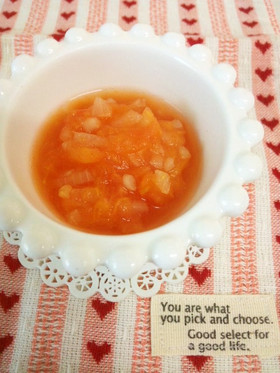 【離乳食中期から】長く使えるトマトソース