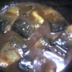 簡単サバの味噌煮