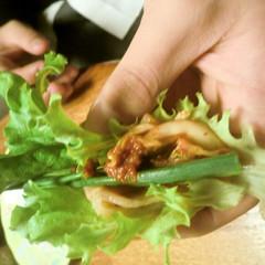 大好き!韓国料理✿サムギョプサル✿