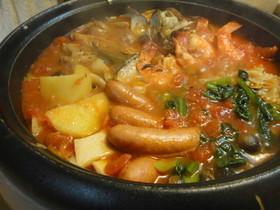 ブイヤベース風☆うちのトマト鍋