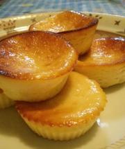 ヨーグルトと豆腐のチーズケーキの写真