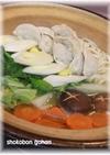 うどんスープDE簡単餃子鍋