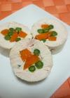 鶏胸肉の野菜巻き