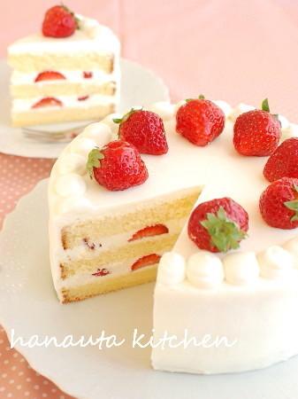 ぜいたく苺の♪ミルキーショートケーキ