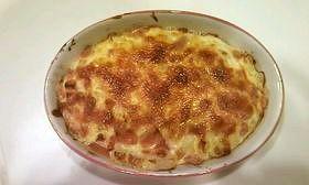 たっぷりチーズのトマトグラタン