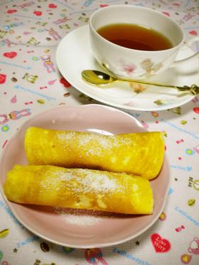 ☆白玉だんごのホットケーキまき☆