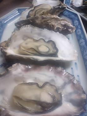 牡蠣の蒸し焼き