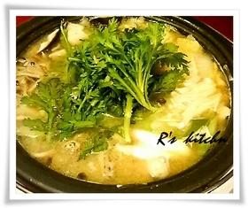 魚介に良く合う味噌バター鍋♪