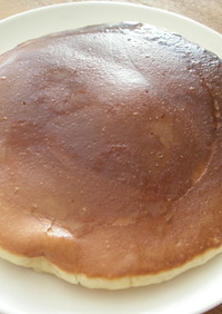 チーズ蒸しパン味♪ホットケーキ