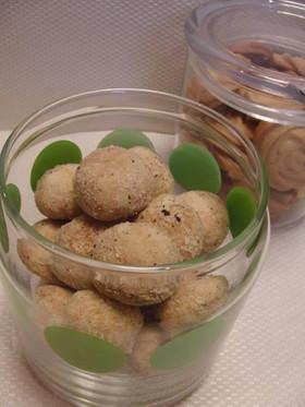 ペッパー&チーズのおつまみクッキー