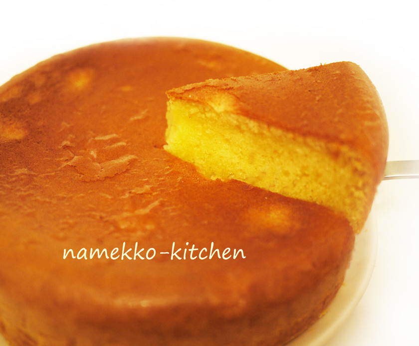 ●炊飯器で焼く☆HMで白生チョコケーキ●