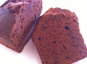 チョコのしっとりパウンドケーキ