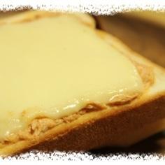 ツナマヨキムチーズトースト