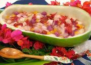冬瓜のフルーツ和えの写真