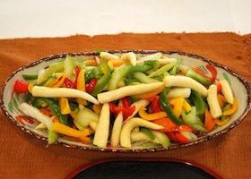 色どり野菜のらっきょう酢漬け