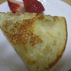 キャラメルバナナ豆乳パンケーキ