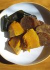 凍み大根&かぼちゃ&昆布の煮物