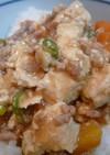 冷凍豆腐を使った辛くない麻婆豆腐