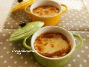 時短・簡単♪オニオングラタンスープの写真