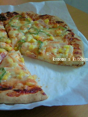 ホットケーキミックスで☆簡単ピザ