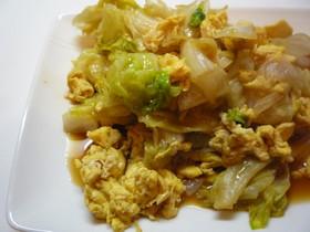 簡単☆レタスと卵のオイスターソース炒め