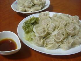 ハルモニの味☆韓国風餃子(マンドゥ)