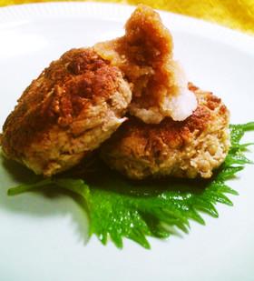 肉無し!エノキ茸とおからのハンバーグ