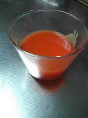 野菜ジュースゼリーの写真