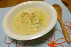 胃にやさしい☆白菜と白ねぎの豆乳スープ