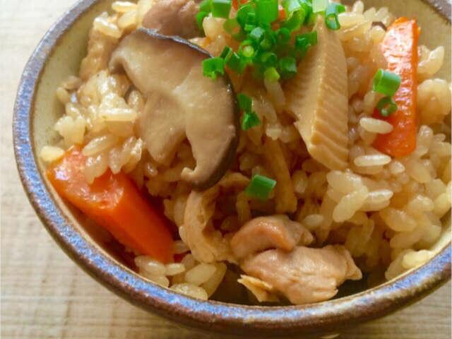 炊き込み ご飯 レシピ