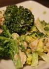 簡単☆ブロッコリーとツナのサラダ