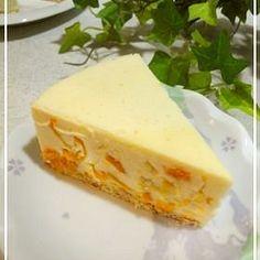 ★金柑甘露煮で簡単レアチーズケーキ★