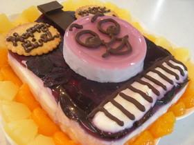 トーマスのキャラ誕生日ケーキ