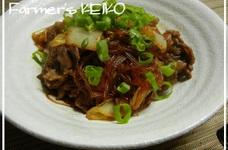 【農家のレシピ】白菜と春雨の煮物
