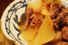 ショウガでぽかぽか☆豚肉とお大根の煮物