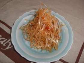 葱好き必見。白葱のピリ辛ナムル。