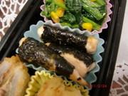 お弁当シリーズ♪ささみの海苔焼き★の写真