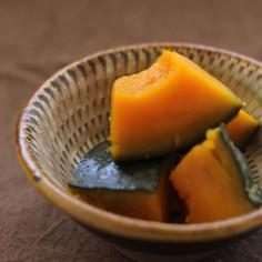 圧力鍋で簡単かぼちゃの煮もの