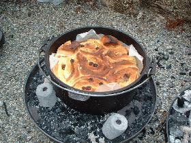 野外料理DEパン作り~@あっぷるきゃらめるろ~る@