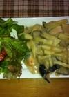 蒸し鮭の和風キノコベシャメルソース