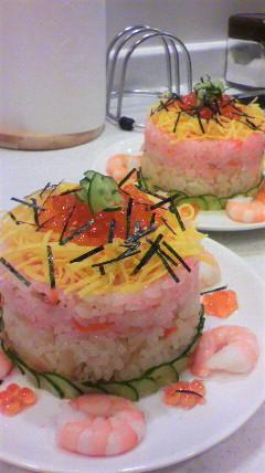 ひな祭り★ちらし寿司