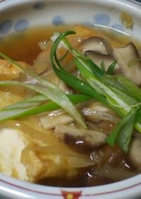 揚げ出し豆腐の中華風とろ~りあんかけ~☆