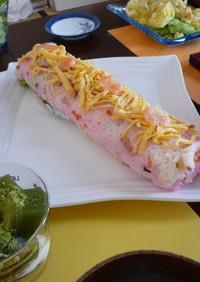 雛祭りに☆ロール◎ちらし寿司