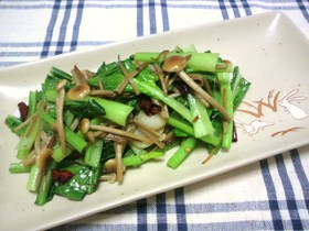ピリ辛っ! 小松菜のナンプラー炒め♪